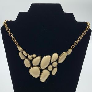 Lucky Brand Bib Statement Reversible Necklace Bird